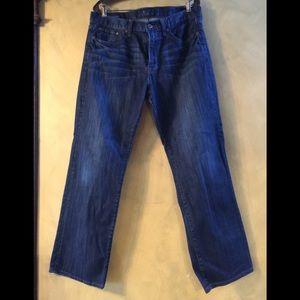 Lucky Jeans 361 Vintage Straight Dark Wash Jeans